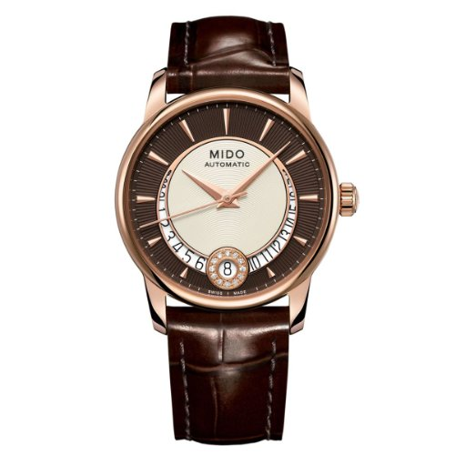 mido-baroncelli-m0072073629100-womens-wrist-watch-leather-strap-brown