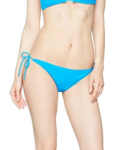 Iris & Lilly Slip Bikini con Laccetti Donna, Blu (Marine Blue), 14 (Taglia Produttore: Large)