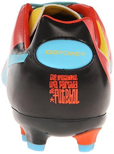 Puma Evopower 3 Compact Graphiques De Terrain Dubarry / Dandelion / Noir Chaussures De Football