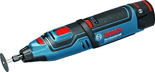 Preisvergleich Produktbild Bosch Professional Akku-Rotationswerkzeug GRO 12 V-35 (2 x 2,0 Ah Akku, Schnellladegerät, Trennscheibe, Leerlaufdrehzahl: 5,000 – 35,000 min-1, 12 Volt System, L-Boxx)
