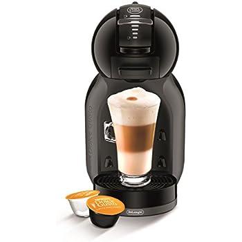DeLonghi Dolce Gusto Mini Me EDG 305 BG - Cafetera automática, color negro y gris