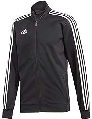 adidas Tiro19 TR Jkt, Giacca Sportiva Uomo, Black/White, M