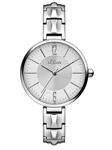 sOliver-Damen-Armbanduhr-Analog-Quarz-Edelstahl-SO-3088-MQ