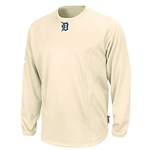 Detroit Tigers MLB Cooperstown Natural Therma Base Tech Fleece