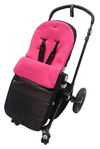 Chicco saco/Cosy Toes Compatible con Urban Londres Echo Multivía Lite Way, color rosa oscuro