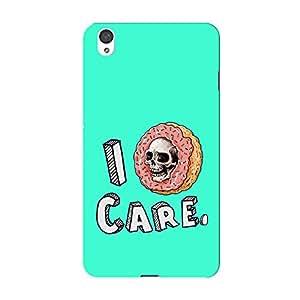PosterHook I Doghnut Care One Plus X Designer Case