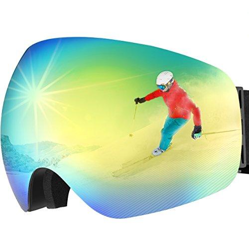 Gafas Snowboard, OMORC Gafas Esquí con Anti-Niebla Lente de dual capa