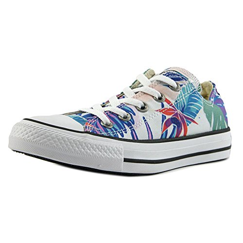 Converse Mens Chuck Taylor All Stars Tropical Print Ox Low Top Canvas Trainers Multi