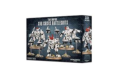 XV8 Crisis Battlesuits 56-07 - Empire Tau - Warhammer 40,000