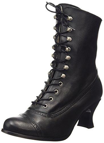 Stockerpoint Stiefel 4490, Damen Kurzschaft Stiefel, Schwarz (schwarz nappa), 38 EU