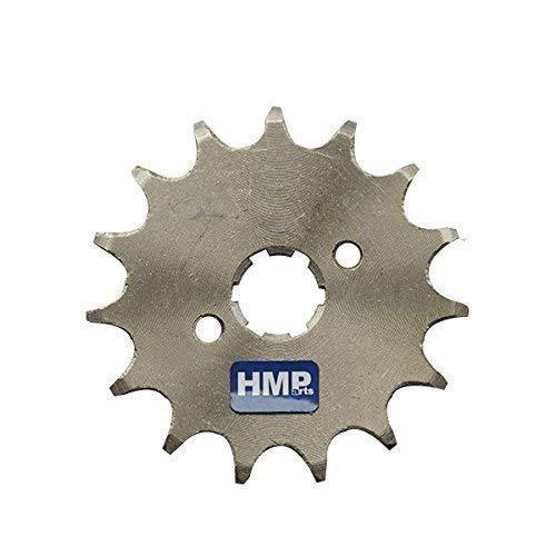 HMParts Dirt Bike/Pit Bike/Quad/ATV/Monkey DAX Ritzel 428 mit Sicherungsblech Verschiedene Größen Welle 20 mm (428 13 Z. 20 mm)