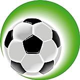 Tortenaufleger Fußball1/ 20 cm Ø