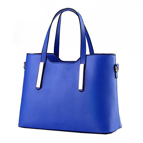 Tendenza Yy.f Nuove Borse Moda Borsa A Tracolla Pacchetto Diagonale Borsa Portatile Signora Messenger Grandi Sacchetti Multicolori Blue