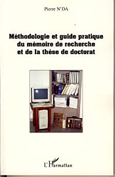 Descargar Libros En Ingles Méthodologie et guide pratique du mémoire de recherche et de Formato PDF