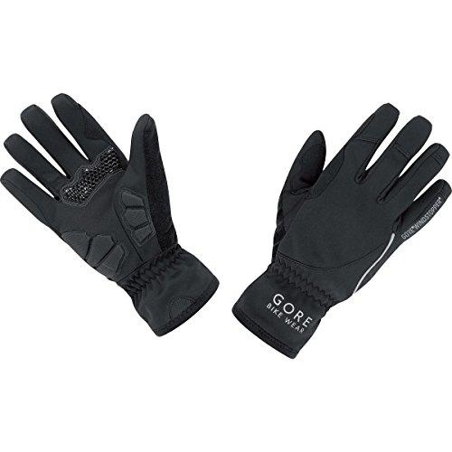 GORE WEAR Damen Handschuhe Power Windstopper Soft Shell, Schwarz, 6