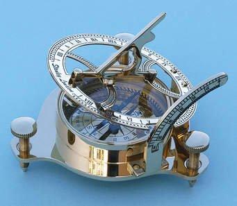 10,2cm bussola meridiana in ottone ottone marittimo nautica meridiana bussola