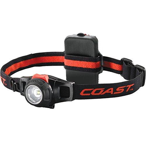 Kraftmax Coast HL7 - Fokussierbare LED Kopflampe / Hochleistungs Stirnlampe