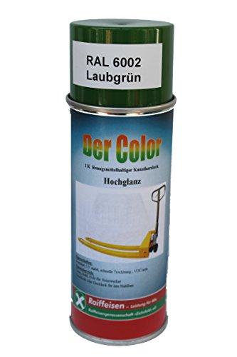 Preisvergleich Produktbild Raiffeisen DerColor Decklack- Spray (Standard),  Inhalt: 400ml,  Farbe: Himmelblau RAL 5015 Seidenglanzlack