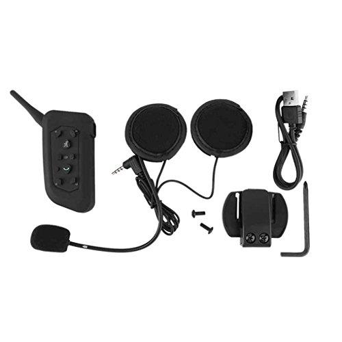 Befaith 3,5mm Bluetooth Motorrad-Sturzhelm Sprech Headset 6 Fahrer Sprech drahtlose Kopfhörer Headset Für Fahrer