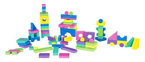 Kinder Enfants de Garden Eva 00381 – Pierres de Construction, bébé Jouet, 96 Pièces