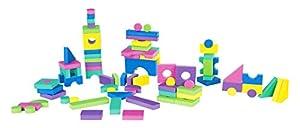 Niños de Garden EVA 00381-Ladrillos, niño Juguete, 96Piezas