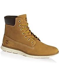 trigo TIMBERLAND A17M9 las mujeres amarillas amarillo zapatos botas de cuero impermeables