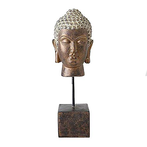 Home collection casa decorazioni accessori scultura statua testa di buddha