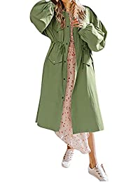 STRIR Chaquetas De Mujer Fiestas Medium Largos Loose Casual Abrigos Elegante Marca Corea Estilo Hippie Manga