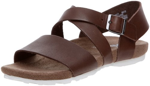 Timberland Earthkeepers City Sandal Three-Strap Slide Sandal, Sandales homme Marron