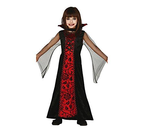 Guirca Vampir Kostüm Halloween Kostüm für Kinder Halloweenkostüm Gr. 98-146, Größe:140/146