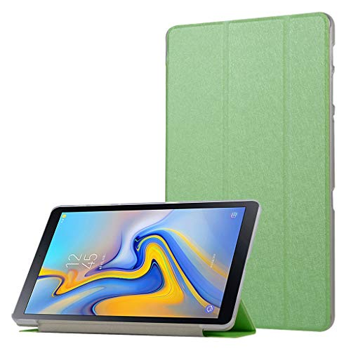 QHJ Hülle für Samsung Galaxy Tab A 10.1 Zoll 2019,Ultra Slim Lightweight Stand Case Schutzhülle für Samsung Galaxy Tab A 10.1 T510 T515 (Grün) - Lila Tab Samsung 2 Case Galaxy