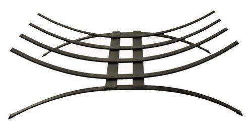 Contemporary Handmade Metal Log Basket.