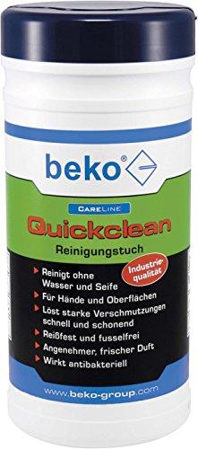 Preisvergleich Produktbild BEKO CareLine Quickclean Reinigungstuch, 1 Stück, 2993100