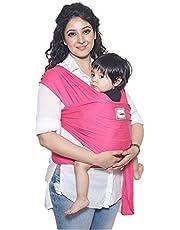 Mama Cuddle Super Soft Lightweight Baby Sling Stretchy Wrap Carrier - Fuchsia