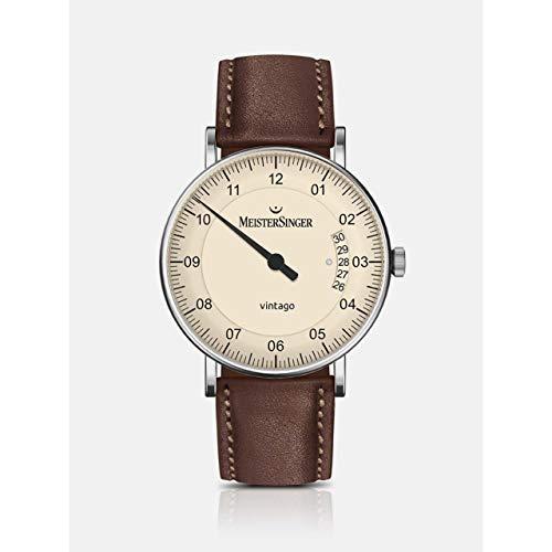MeisterSinger Vintago VT903 Reloj automático con sólo una aguja