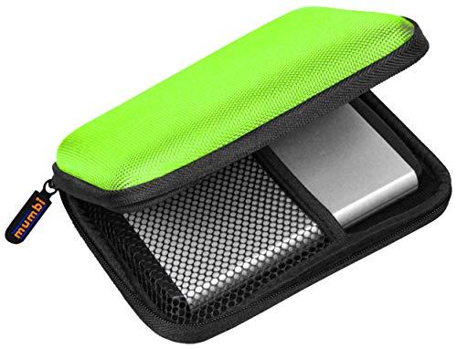 """mumbi externe Festplattentasche bis 6,35 cm (2,5"""") grün"""