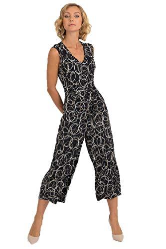 48fff7fcdfa Joseph Ribkoff Black Beige & Silver Jumpsuit Style - 193686 Fall 2019 Hot  Styles