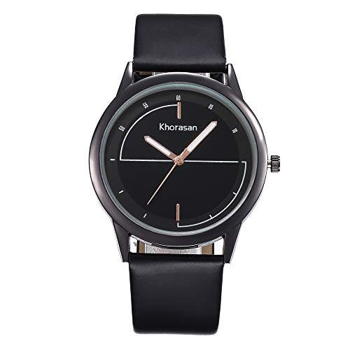 YEARNLY Damen Armbanduhr Mode Einfaches Quarz Uhr Kleines Zifferblatt Mit Lederarmband Uhr Elegant Classic Minimalistisches Design Damen Quarzuhr Uhren Damen Sale Uhren