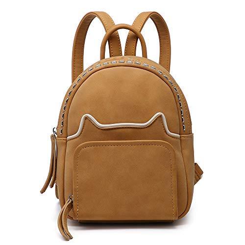 �rse für Gils Damen kleiner Rucksack Handtasche süße Tasche Rucksack Tote (Mira Camel) ()