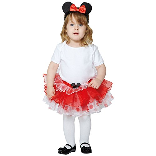 Travis x-DCMIN-TUR1-2 Kinderkostümset Minnie, 80 - 92 (Baby Kostüme Mädchen Tinkerbell)