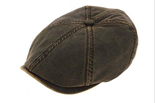 brooklin-old-cotton-coppola-stetson-cotton-cap-cappello-piatto-l-58-59-marrone