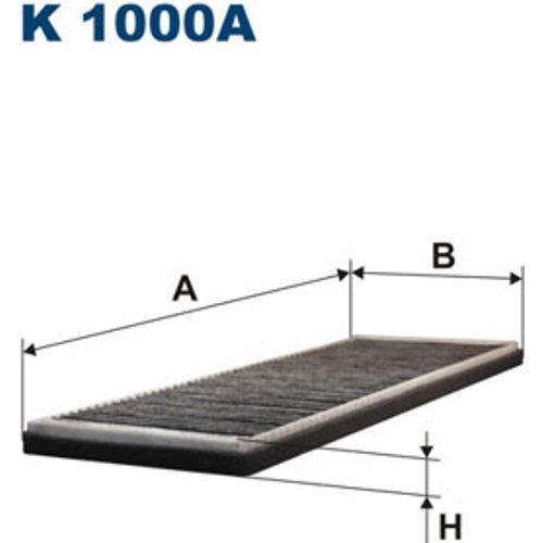 FILTRON K1000A Filter, Innenraumluft