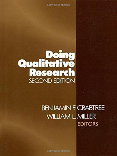 Doing Qualitative Research (Research Methods for Primary Care (Paperback)) (1999-08-24)