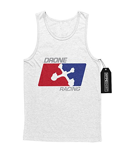 "Tank-Top Drones ""DRONE RACING NBA STYLE"" H970041 Weiß"