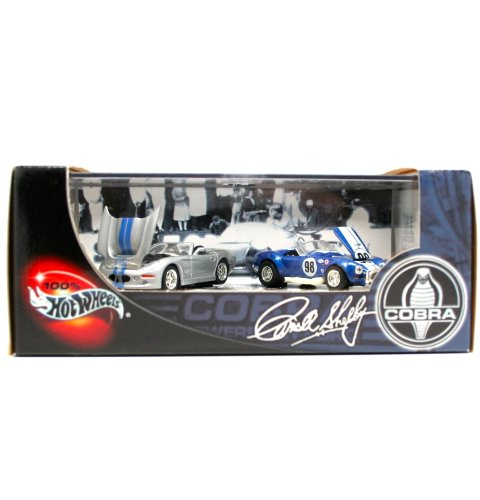 Preisvergleich Produktbild Shelby Series 1 & Cobra 427 S/C * Limited Edition * Hot Wheels 2001 Carroll Hall shelby' S Cobra 1: 64 Scale 2-car Custom Vehicle Box Set