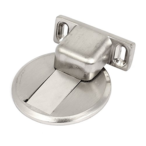 Haus Büro Edelstahl magnetischer Tür-Halter Haltefeder mit Schrauben - Magnetisch Tür-halter