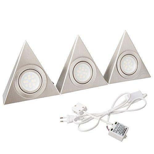 Baytter-2er-3er-Set-288W-LED-Unterbauleuchte-Kchenlampe-5050-12-LEDs