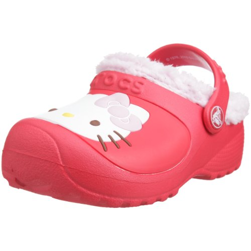 Crocs Kids - Clogs HELLO KITTY CUSTOM LINED - bubblegum fuchsia