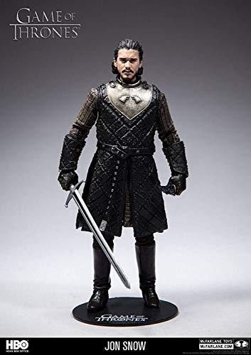 HEO GMBH- Game of Thrones Juego De Tronos Figura Jon Nieve, Multicolor (MC Farlane 10651-0)