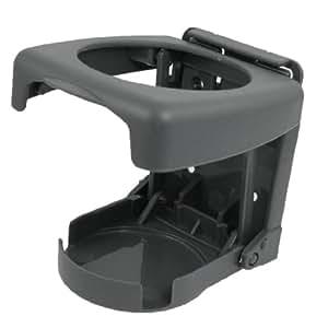 porte bouteille gobelet canette pour voiture automobile en plastique dur pliable gris. Black Bedroom Furniture Sets. Home Design Ideas